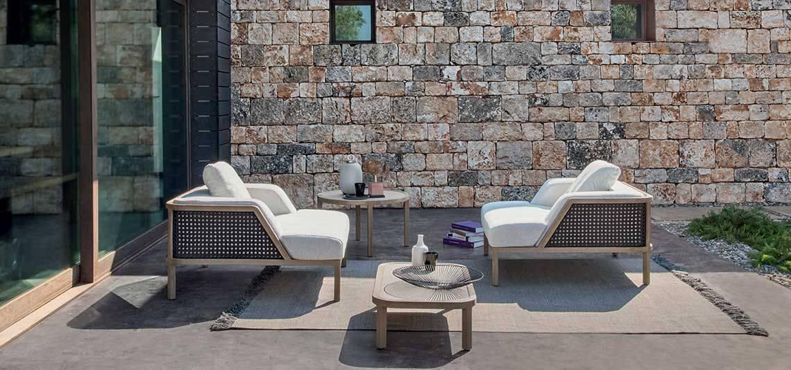 Canapé de jardin XL design contemporain, GRAND LIFE, par ...