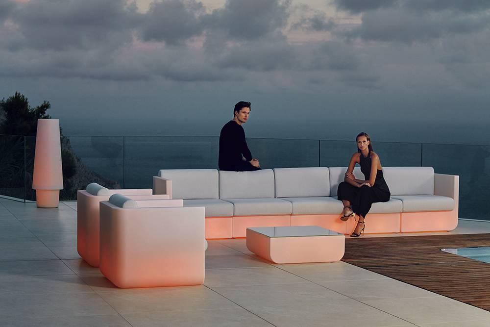 Canapé de jardin, d\'extérieur, design, ULM, par Vondom ...