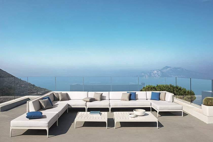 Canapé modulaire d'extérieur design, Collection INFINITY ...
