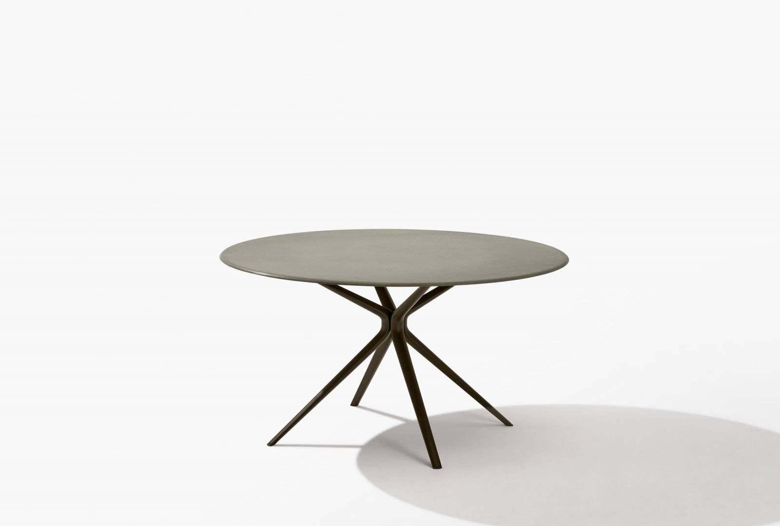 Plateau De Table En Pierre Naturelle table de jardin, d'extérieur, en aluminium, moai par fast